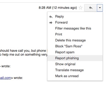 Managing Spam In Gmail Burke Tech Support